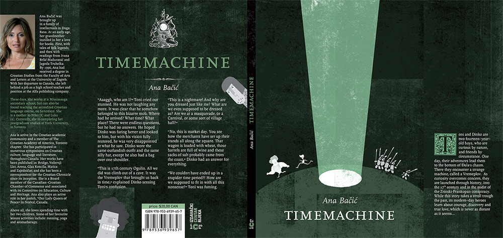 Ana Bacic - Journalist, Writer (novel Time Machine)